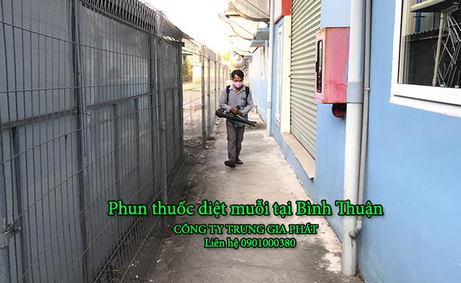 Dịch vụ phun thuốc diệt muỗi tại Bình Thuận uy tín