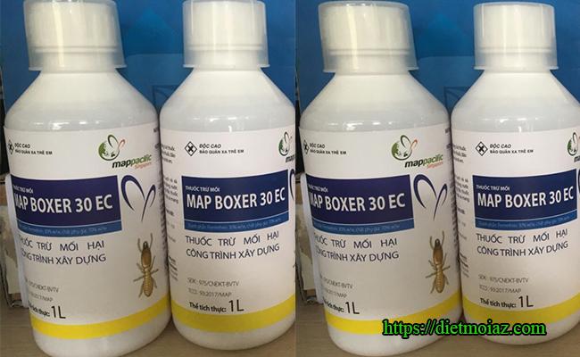 Hình ảnh chai thuốc phòng chống mối MAP BOXER 30EC